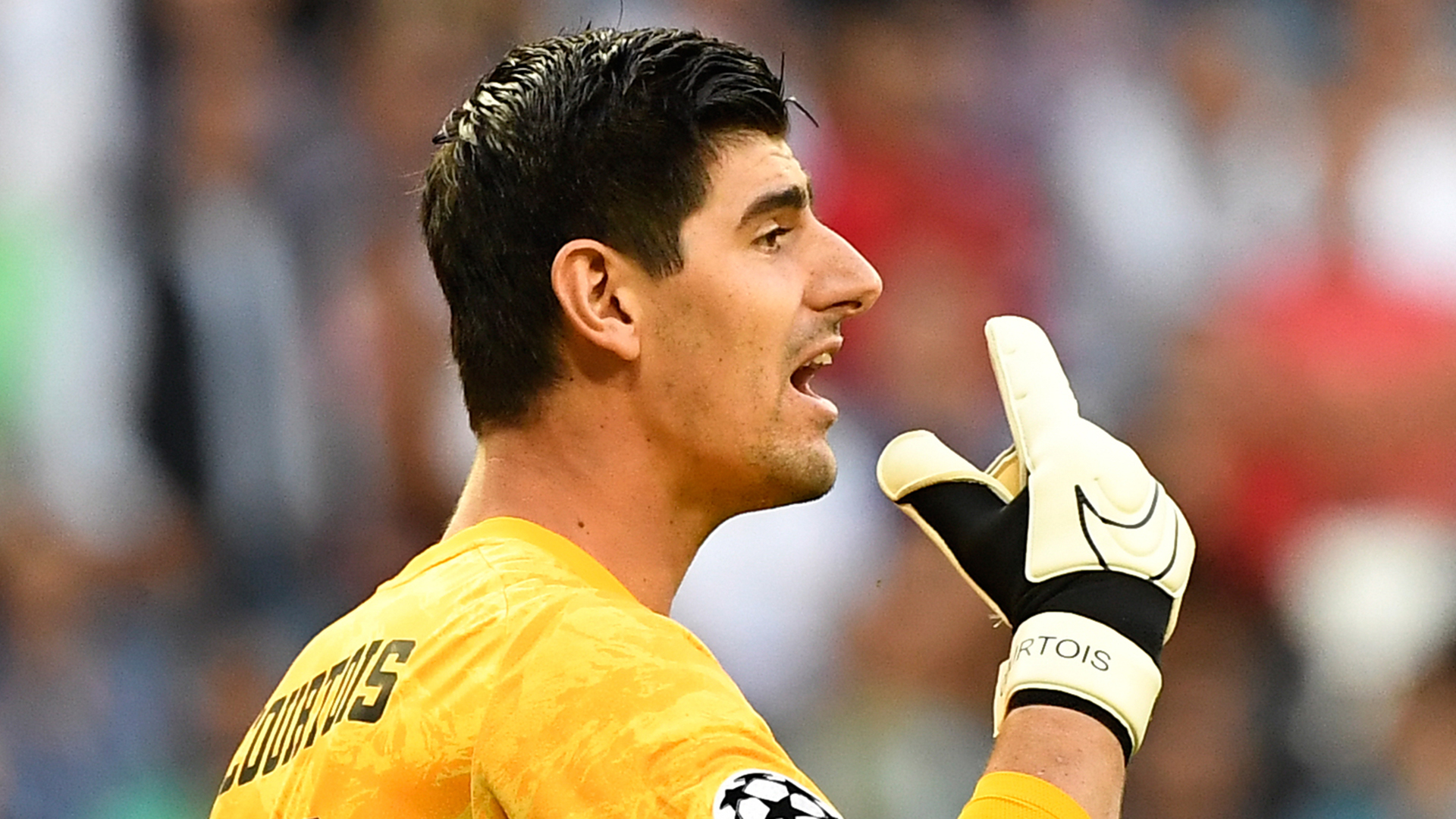 'I didn't see anything!' - Courtois defends VAR intervention