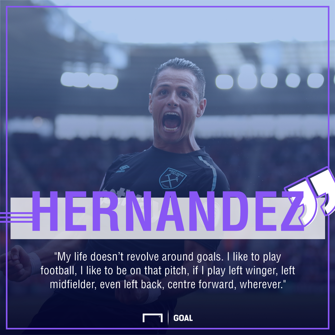 Chicharito playing surface