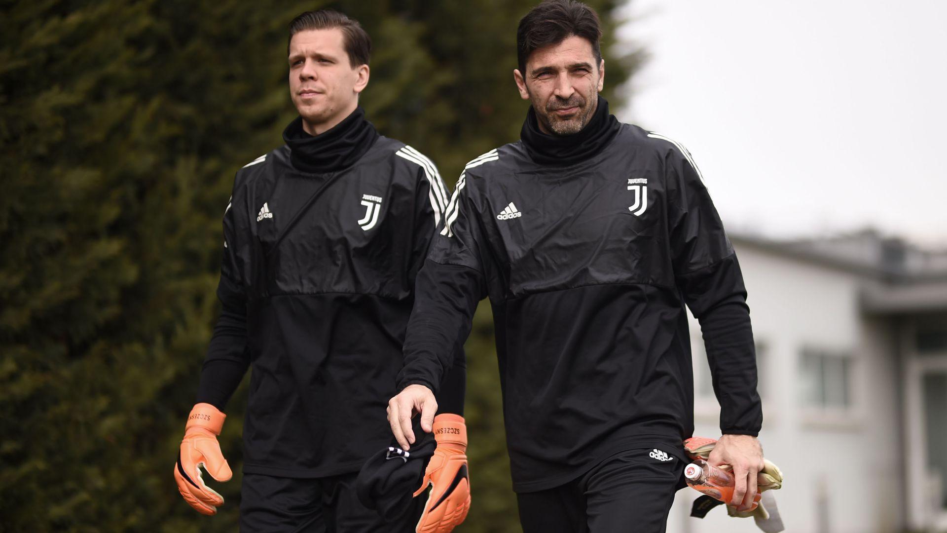 Wojciech Szczesny Gianluigi Buffon Juventus