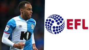 Elliott Bennett Blackburn EFL logo
