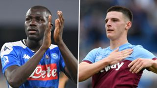 Kalidou Koulibaly Napoli Declan Rice West Ham 2019-29