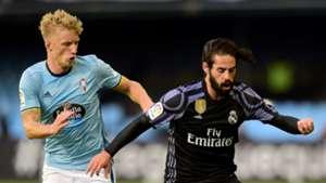 Isco Daniel Wass Real Madrid Celta LaLiga 17052017