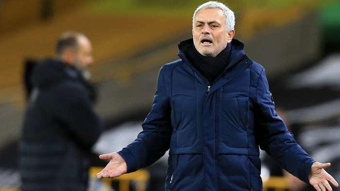 Jose Mourinho Tottenham 2020