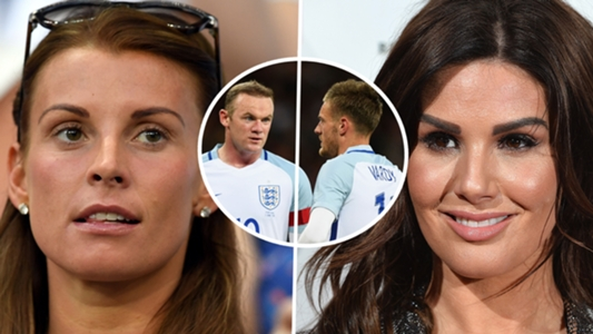 WAGs at war: Coleen Rooney and Rebekah Vardy in almighty Twitter feud over shared stories