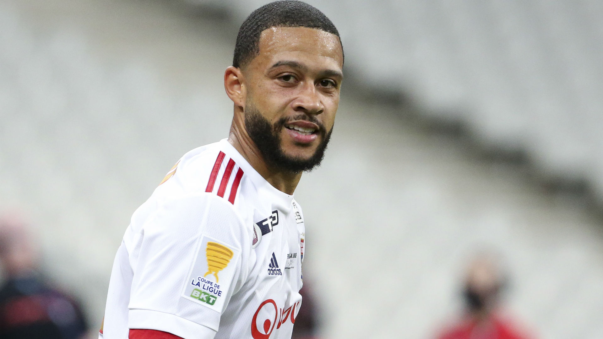 'I would take Memphis in my car personally' - Lyon boss Garcia responds to Barcelona transfer talk as speculation lingers