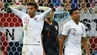 Dele Alli Jesse Lingard England Croatia 2018 World Cup