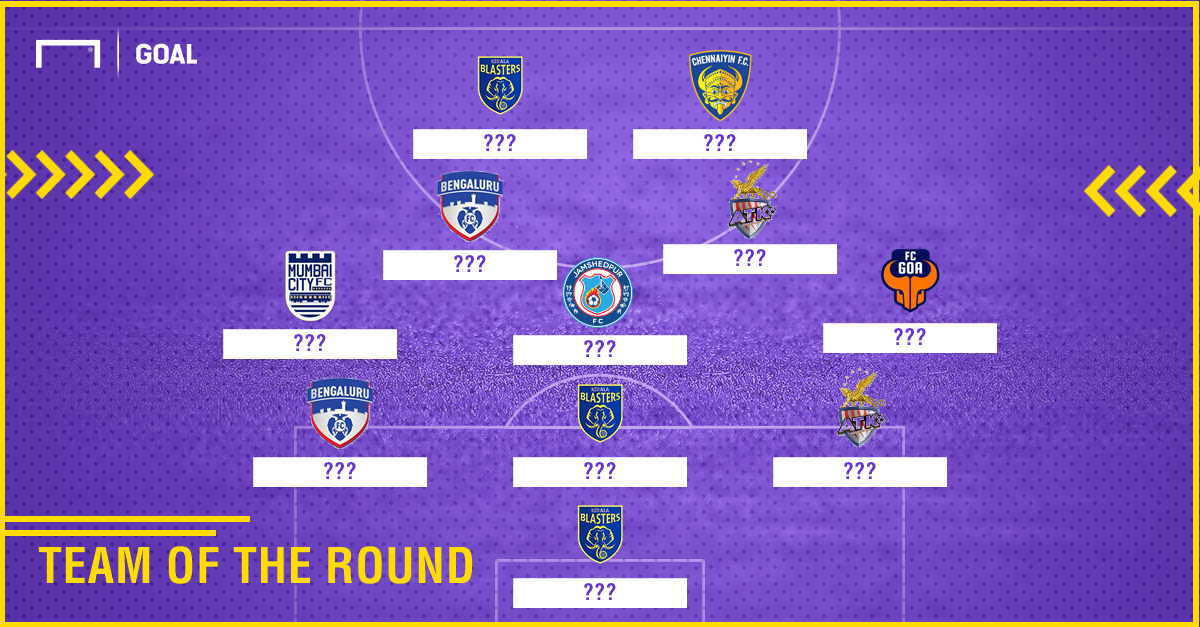 ISL 2017-18 Team of the Round 9