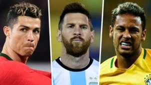 Cristiano Ronaldo - Lionel Messi - Neymar