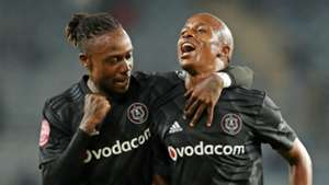 Mthokozisi Dube & Luvuyo Memela, Orlando Pirates, April 2019