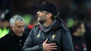 Jose Mourinho Jurgen Klopp Liverpool Manchester United 2018-19