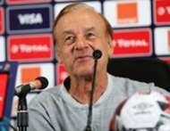 Gernot Rohr Nigeria press conference