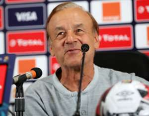 Gernot Rohr Nigeria press conference