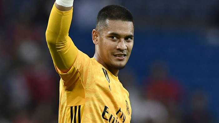 Alphonse Areola Real Madrid 2019-20