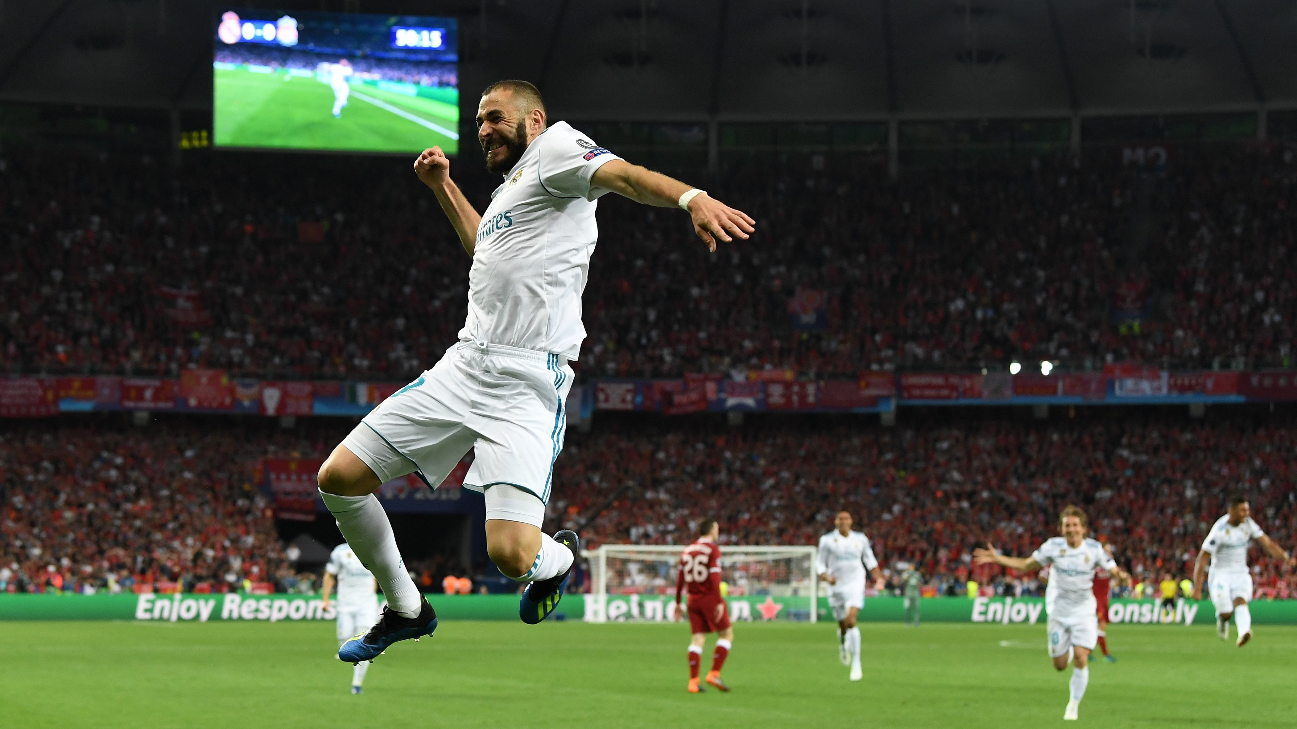 Karim Benzema Real Madrid Liverpool UCL
