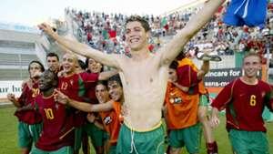 Young Cristiano Ronaldo Portugal Toulon