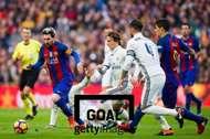 세계적인 선수들이 경기를 펼치는 FC 바르셀로나와 레알 마드리드의 '엘 클라시코'. 사진=게티이미지