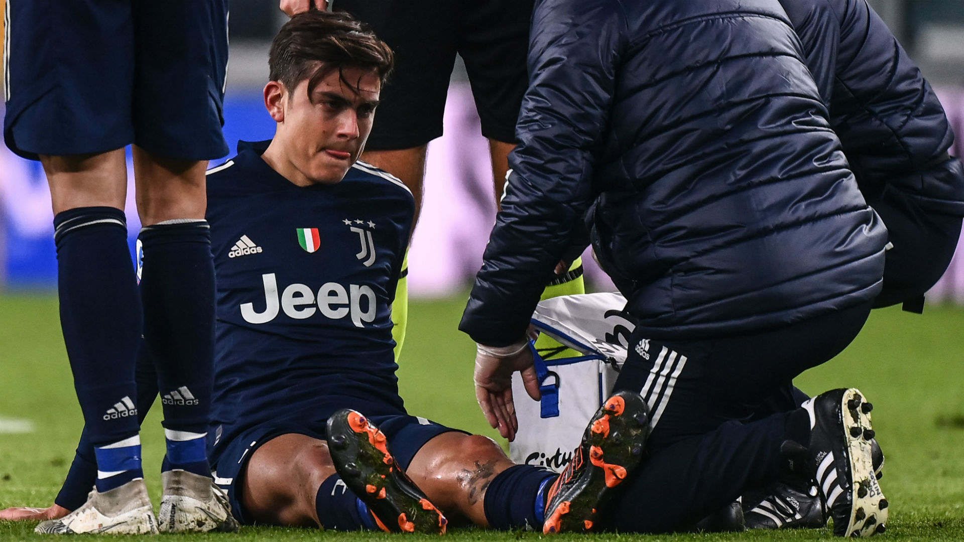 Dybala may have suffered ligament damage after being forced off against Sassuolo, says Juventus manager Pirlo