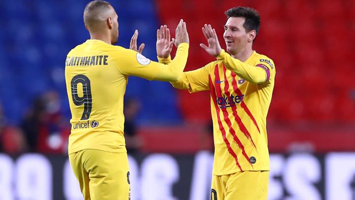 Messi Braithwaite Copa del Rey Athletic 2020-21