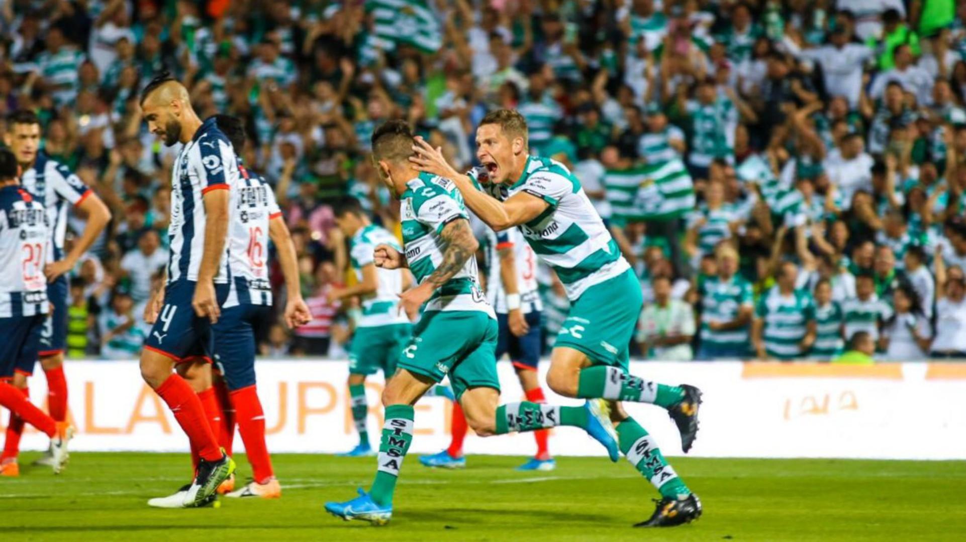 Santos gana a León de último minuto 3-2