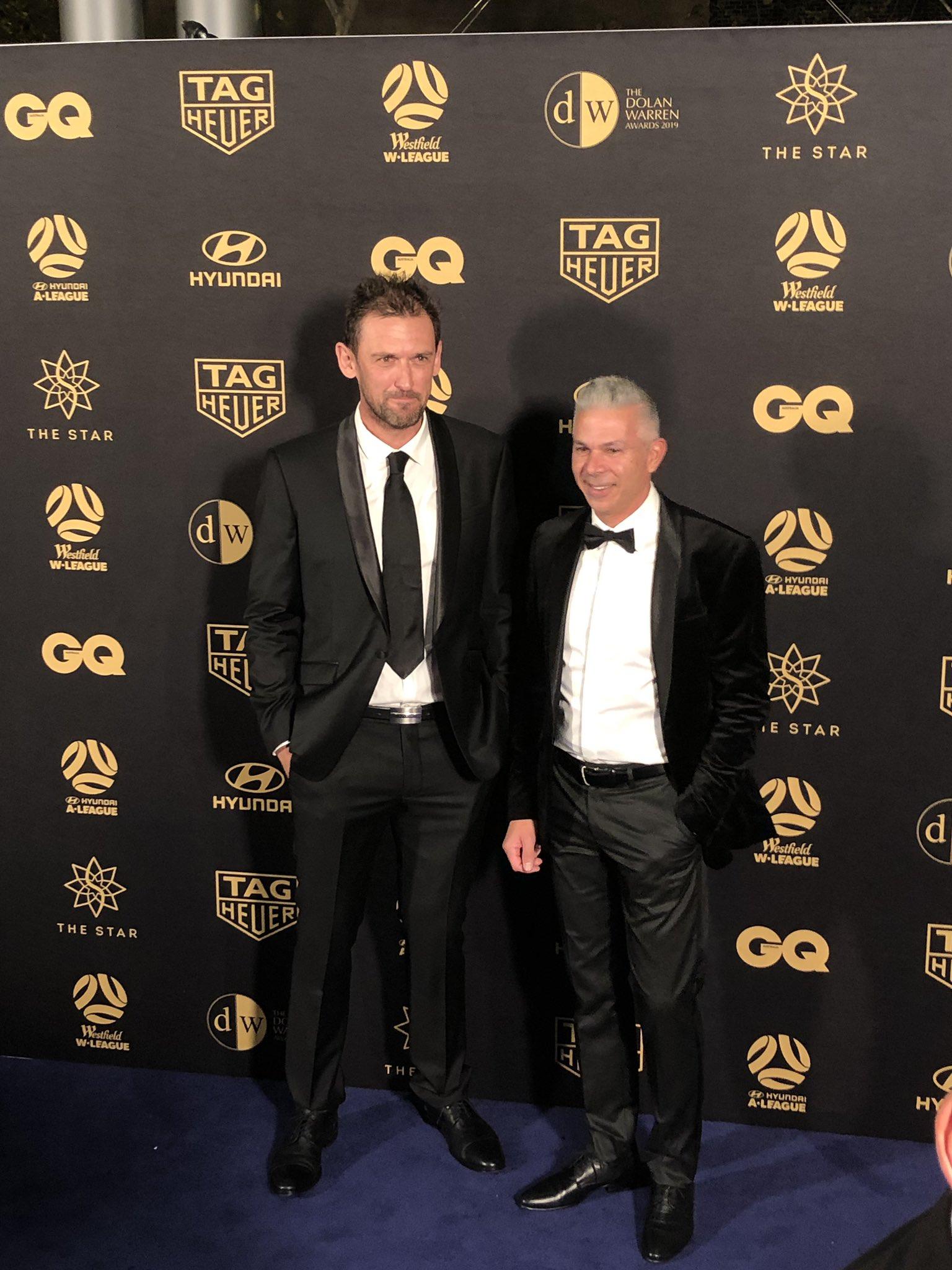 Tony Popovic and Steve Corica