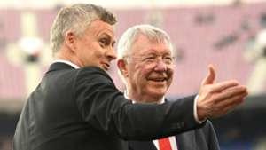 Ole Gunnar Solskjaer Sir Alex Ferguson Manchester United 2018-19