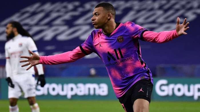 Kylian Mbappe Lyon PSG Ligue 1 21032021