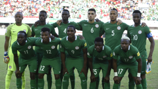 Victor Moses with Nigeria