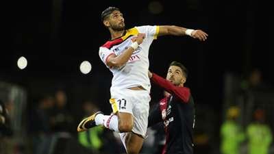 Achraf Lazaar Cagliari Benevento Serie A 10252017