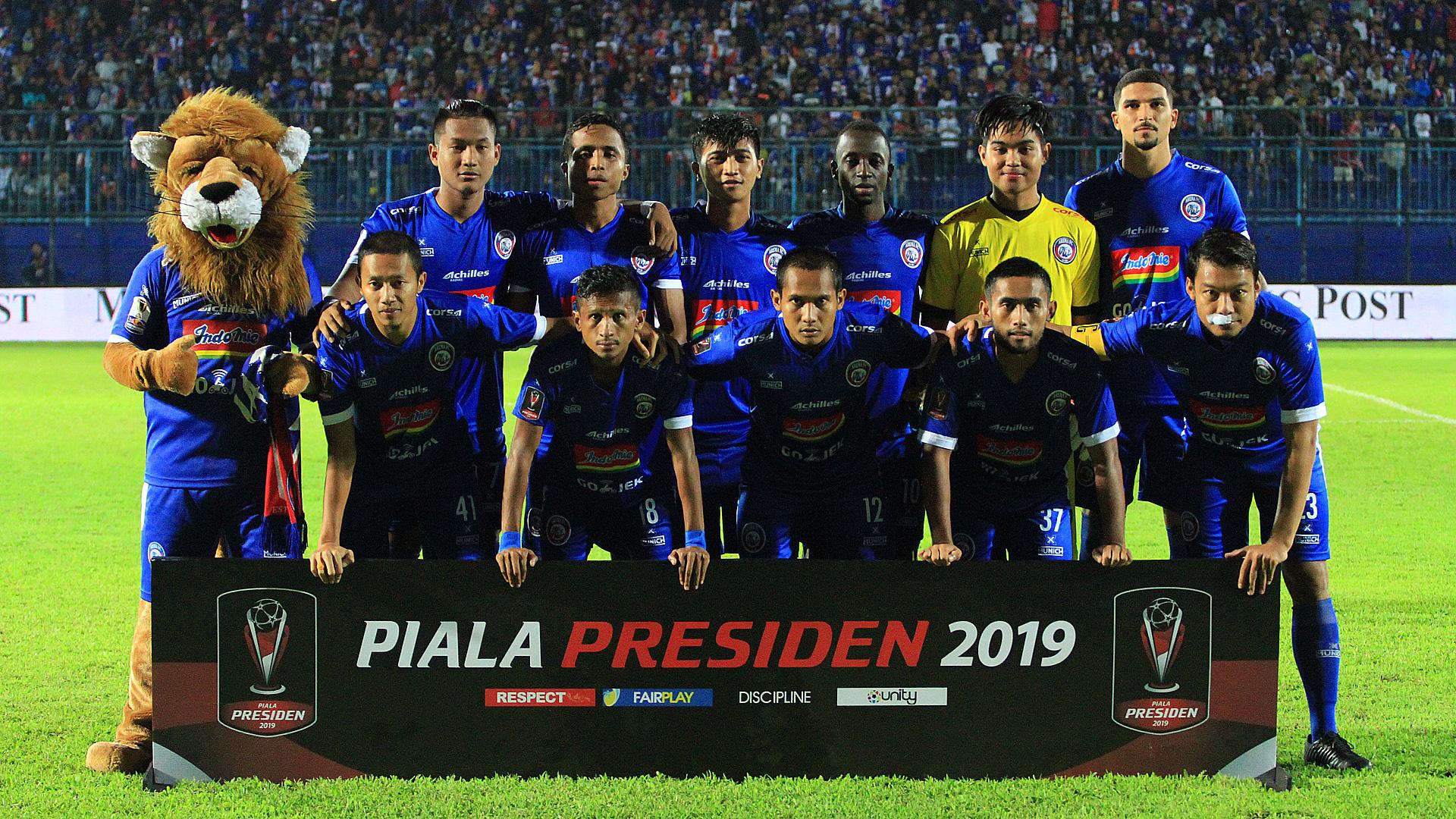Arema FC Akan Berbeda Di Semi Final Piala Presiden 2019