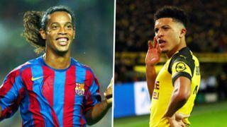 Ronaldinho, Jadon Sancho