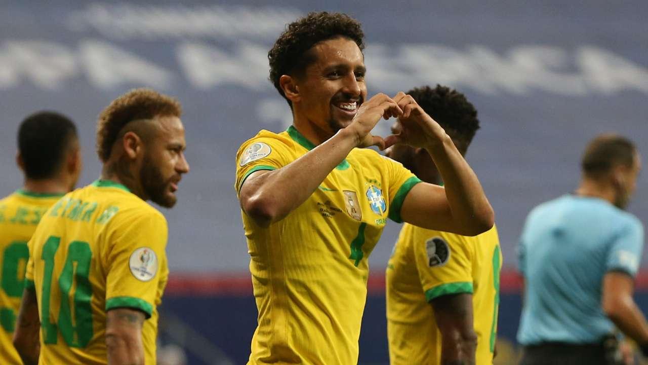 Marquinhos Brazil vs Venezuela Copa America 2021