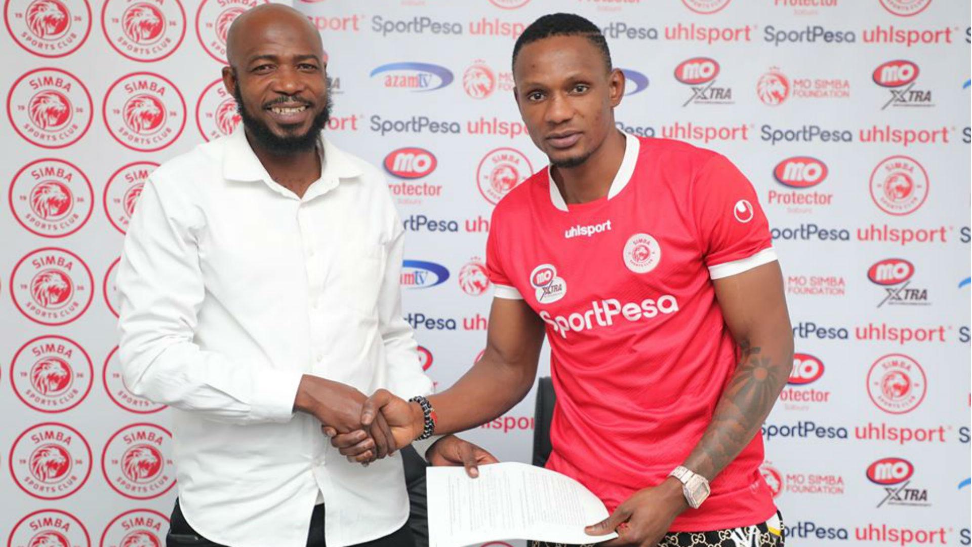 Mugalu: Simba SC sign Congolese striker from Lusaka Dynamos
