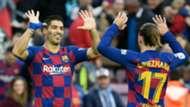 Luis Suarez Antoine Griezmann Barcelona 2019-20