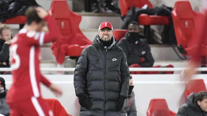 Klopp Liverpool Burnley 2021