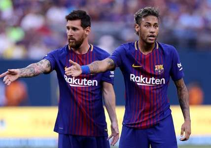 "Messi viré du Barça, Neymar ""aime"" | Goal.com"