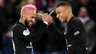 Neymar Kylian Mbappe PSG Paris Saint-Germain 2019-20