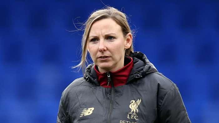 Liverpool Women's coach Vicky Jepson