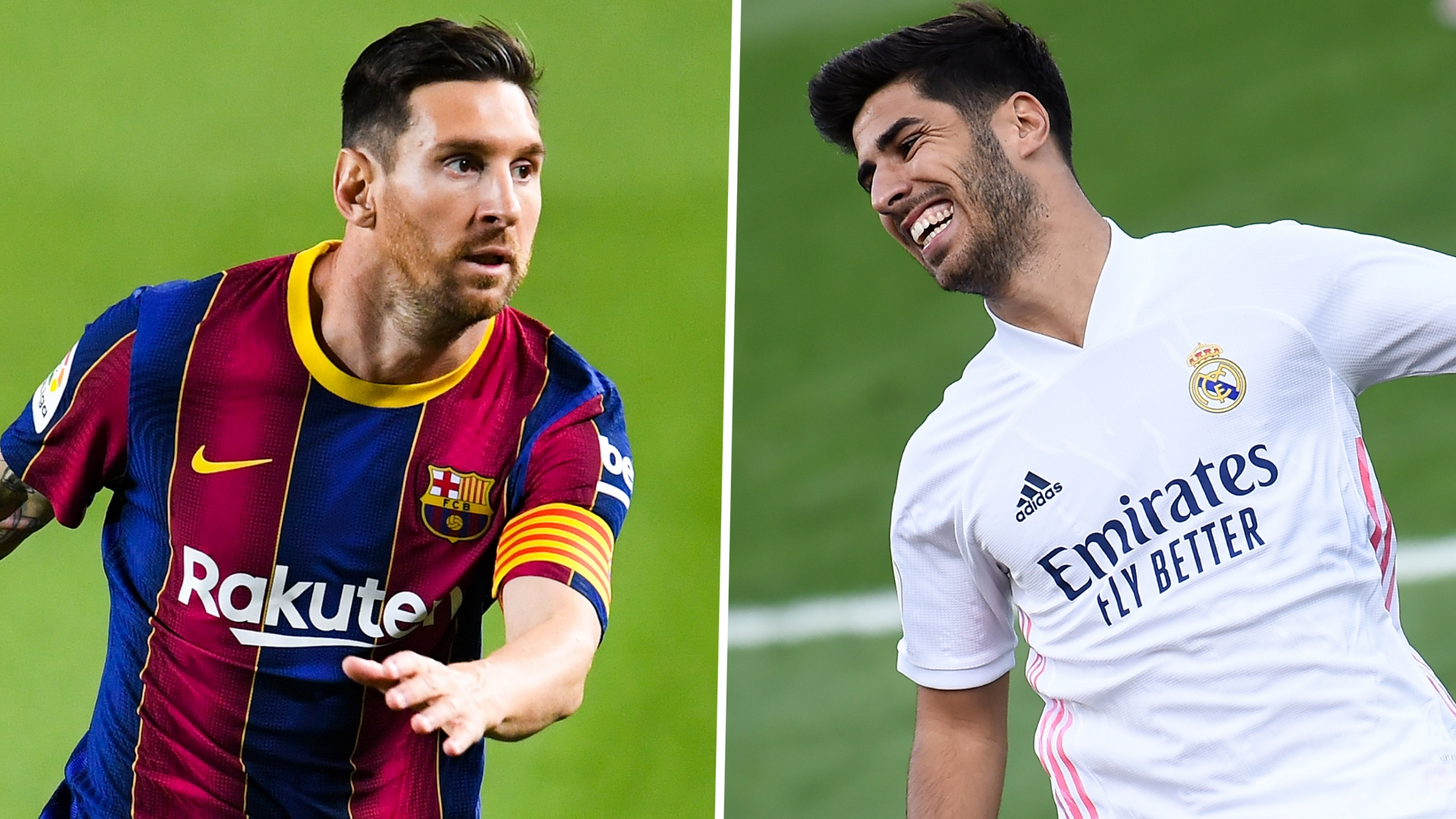 Asensio 'didn't care if Messi left or stayed' but Real Madrid star wants to face 'the best'