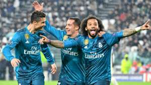 Marcelo Lucas Vazquez Cristiano Ronaldo Real Madrid Juventus UEFA Champions League