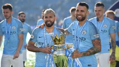 Agüero Otamendi Manchester City 12052019