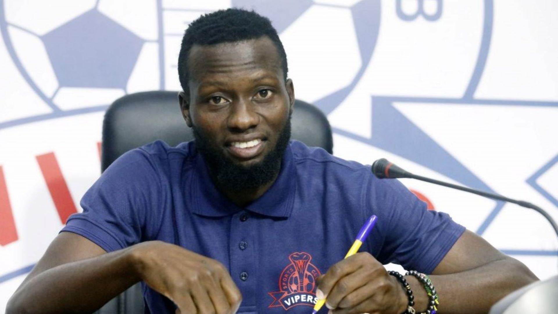 Yunus Sentamu: Vipers SC confirm return of former striker from KF Tirana