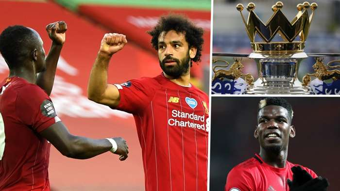 Premier League Mohamed Salah Liverpool Paul Pogba Manchester United 2019-20