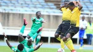LAWRENCE JUMA of Gor Mahia FC v Aigle Noir of Burundi.