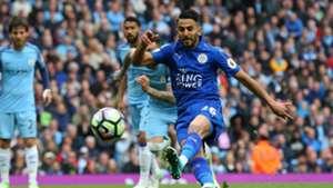Riyad Mahrez Leicester City Manchester City