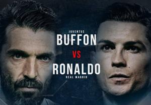 Buffon - Ronaldo