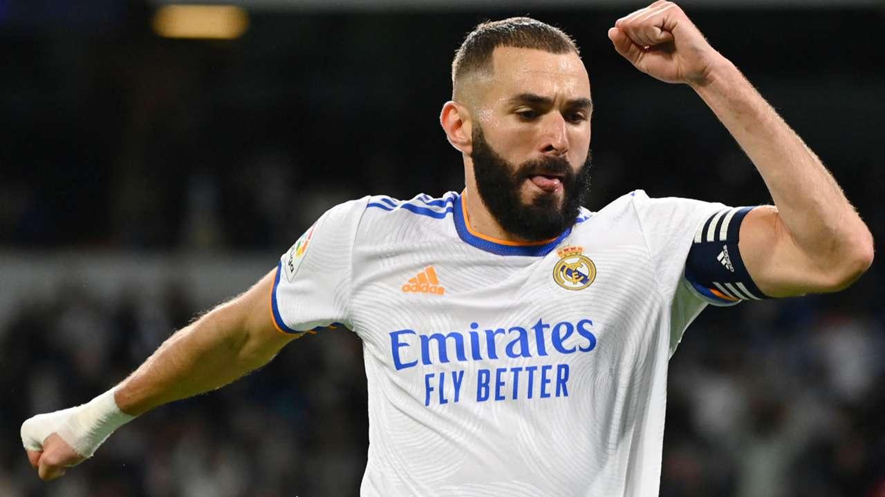 Karim Benzema Real Madrid La Liga 2021-22