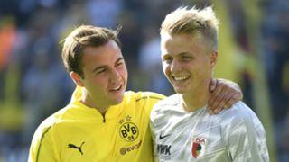 Mario Gotze Borussia Dortmund Felix Gotze Augsburg