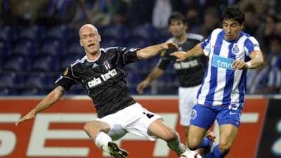 Fabian Ernst Besiktas Porto 2010