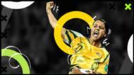 Sam Kerr Australia Goal 50 GFX