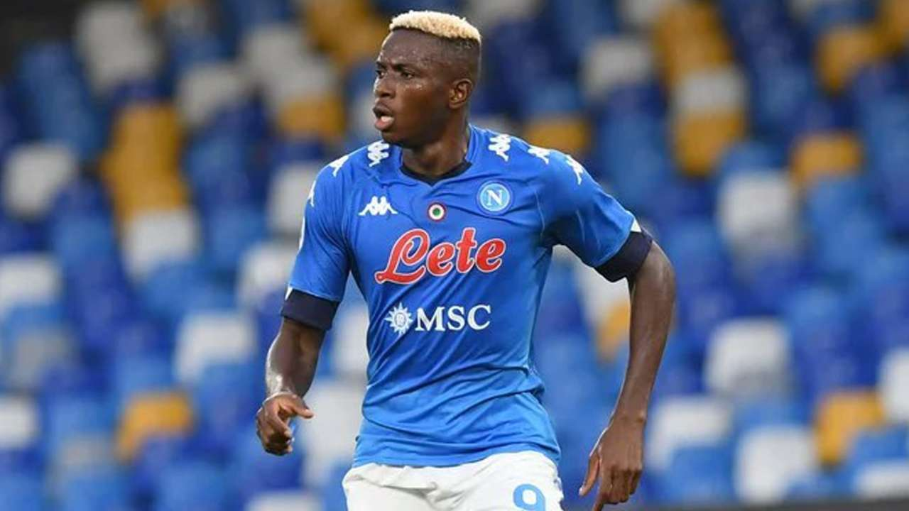 Victor Osimhen of Nigeria and Napoli.